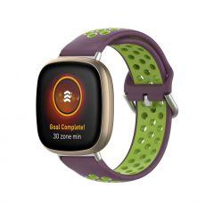 LN ranneke silikoni Fitbit Sense/Versa 3 purple/green