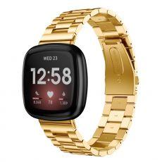 LN ranneke teräs Fitbit Sense/Versa 3 gold
