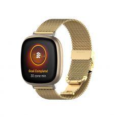 LN ranneke Milanese Fitbit Sense/Versa 3 gold