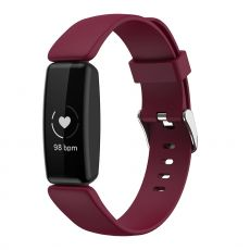 LN ranneke silikoni koko L Fitbit Inspire 2 wine