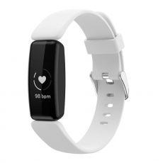 LN ranneke silikoni koko L Fitbit Inspire 2 white