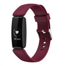 LN ranneke silikoni koko S Fitbit Inspire 2 wine