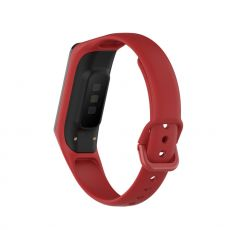 LN vaihtoranneke silikoni Galaxy Fit2 red
