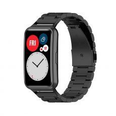 LN vaihtoranneke teräs Huawei Watch Fit black