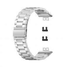 LN vaihtoranneke teräs Huawei Watch Fit silver