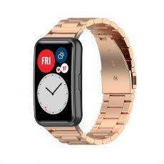 LN vaihtoranneke teräs Huawei Watch Fit rose