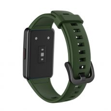 LN vaihtoranneke silikoni Huawei/Honor Band 6 green