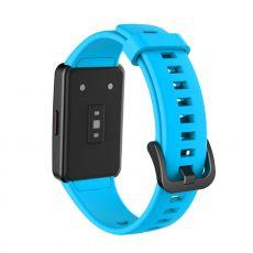 LN vaihtoranneke silikoni Huawei/Honor Band 6 blue