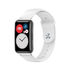 LN vaihtoranneke silikoni Huawei Watch Fit white