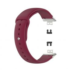 LN vaihtoranneke silikoni Huawei Watch Fit red