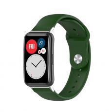 LN vaihtoranneke silikoni Huawei Watch Fit green