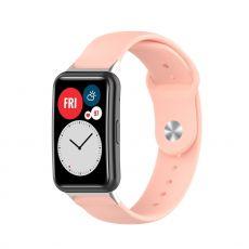 LN vaihtoranneke silikoni Huawei Watch Fit pink
