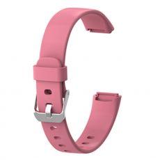 LN ranneke silikoni Fitbit Luxe koko L pink