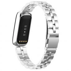 LN ranneke teräs Fitbit Luxe silver