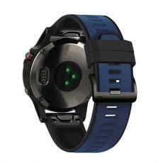 LN ranneke silikoni Fenix 3 HR/5X/5X Plus blue/black