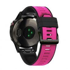 LN ranneke silikoni Fenix 3 HR/5X/5X Plus pink/black