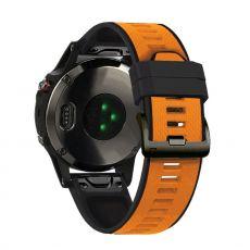 LN ranneke silikoni Fenix 3 HR/5X/5X Plus orange/black