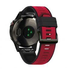 LN ranneke silikoni Fenix 3 HR/5X/5X Plus red/black