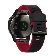 LN ranneke silikoni Fenix 3 HR/5X/5X Plus black/red