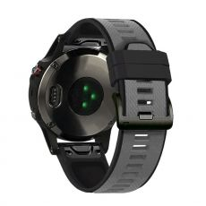 LN ranneke silikoni Fenix 3 HR/5X/5X Plus grey/black