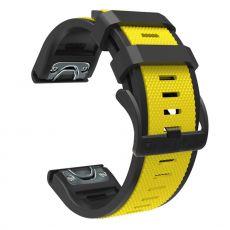 LN ranneke silikoni Fenix 3 HR/5X/5X Plus yellow/black