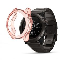 LN TPU-suoja Garmin Fenix 5/5 Plus orange