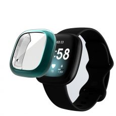 LN TPU-suoja Fitbit Sense/Versa 3 cyan