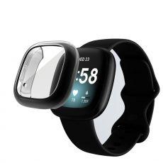 LN TPU-suoja Fitbit Sense/Versa 3 black