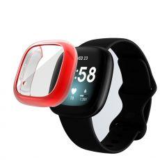 LN TPU-suoja Fitbit Sense/Versa 3 red