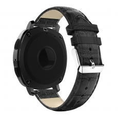 LN Sport/Watch 42 mm/ Active ranneke nahka croco black