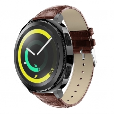LN Gear Sport/Watch 42 mm ranneke nahka croco brown