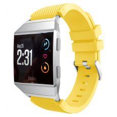 Luurinetti ranneke silikoni Fitbit Ionic yellow