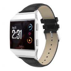 LN ranneke nahka croco Fitbit Ionic black