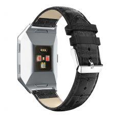 Luurinetti ranneke nahka Fitbit Ionic black