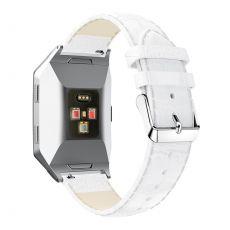 LN ranneke nahka croco Fitbit Ionic white