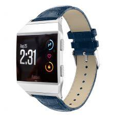 LN ranneke nahka croco Fitbit Ionic blue