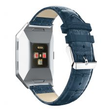 Luurinetti ranneke nahka Fitbit Ionic blue