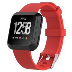 Luurinetti ranneke silikoni Fitbit Versa koko L red