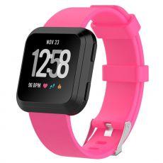 Luurinetti ranneke silikoni Fitbit Versa koko L pink