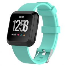LN ranneke silikoni Fitbit Versa koko L cyan