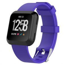 Luurinetti ranneke silikoni Fitbit Versa koko L purple