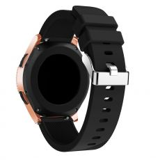 LN Sport/Watch 42 mm/ Active ranneke silikoni black