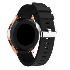LN Sport/Watch 42 mm/Active ranneke silikoni black