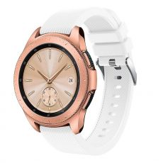 LN Sport/Watch 42 mm/ Active ranneke silikoni white