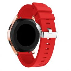 LN Sport/Watch 42 mm/ Active ranneke silikoni red
