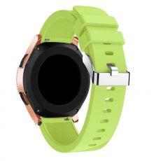LN Sport/Watch 42 mm/Active ranneke silikoni green