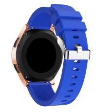 LN Sport/Watch 42 mm/Active ranneke silikoni blue