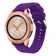 LN Sport/Watch 42 mm/ Active ranneke silikoni purple