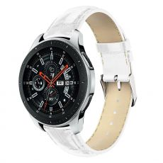 LN Gear S3/Watch 46mm ranneke nahka croco white