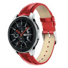 LN Gear S3/Watch 46mm ranneke nahka croco red